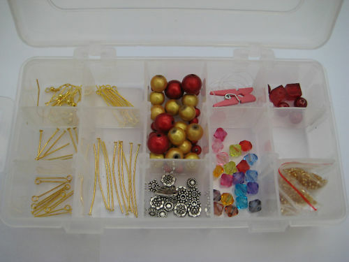 Bracelet and Earrings Beginners Jewellery Making Kit