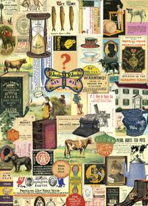 Cavallini-Vintage-Ephemera-Wrapping-Paper