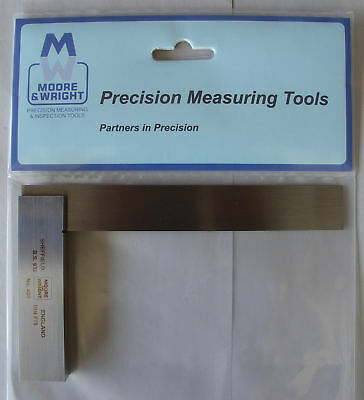 """PRECISION ENGINEERS SQUARE 6"""" / 150mm MOORE & WRIGHT SHEFFIELD ENGLAND"""
