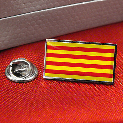 Catalonia Flag Lapel Pin Badge/Tie Pin