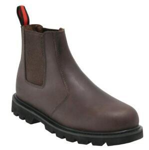 Blackrock-Leather-Dealer-Chelsea-Slip-On-Steel-Toe-Cap-Safety-Work-Boots-Shoes