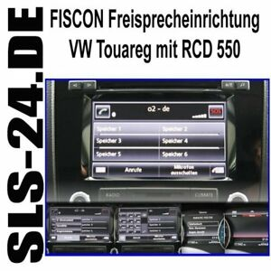 fiscon 38389 vw touareg 7p freisprecheinrichtung rcd550 ebay. Black Bedroom Furniture Sets. Home Design Ideas