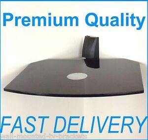 Glass-LED-LCD-Plasma-TV-Wall-Mount-Corner-Shelf-Bracket-for-SKY-PS3-X-BOX-DVD