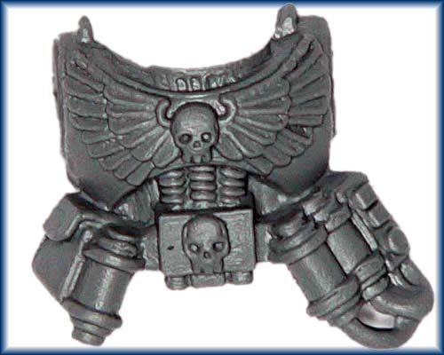 40K Space Marine Command Apothecary Torso bit