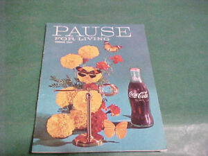 1964 PAUSE FOR BETTER LIVING BOOKLET BY COCA-COLA CO.