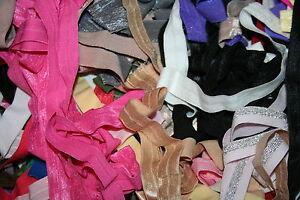 Clearance-LOT-10-yds-RANDOM-Stretch-Foldover-Elastic-Headband-Hair-Ties-FOE-5-8-034