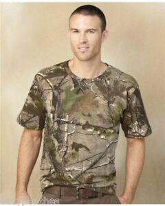 REALTREE-Mens-Size-CODE-V-S-S-T-shirts-APG-AP-CAMO-NEW-SIZES-S-2XL