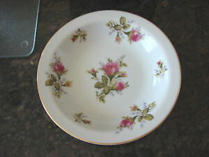 Vintage-FLORAL-PARK-MOSS-ROSE-Japan-SOUP-BOWL-7-3-4-034