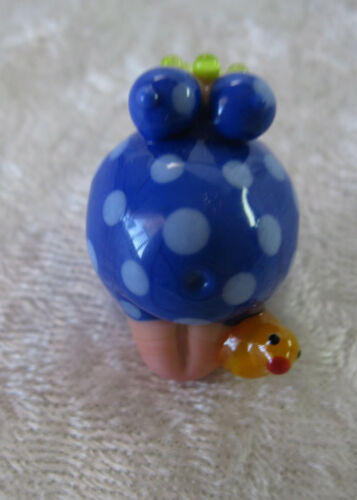 SALE Rubber Ducky Duck Goddess Glass Lampwork Focal Bead Glasting Focal Unusual