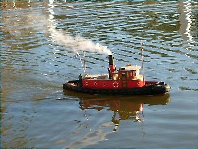 Rc model boat smoke generator 6 volts with fliud