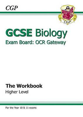 """AS NEW"" Books, Cgp, GCSE Biology OCR Gateway Workbook, Paperback Book"