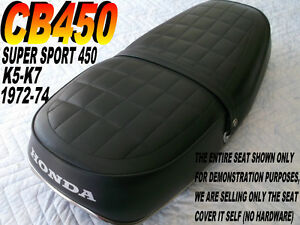 cb450 k5 7 1972 74 seat cover for honda cb 450 cb450k5. Black Bedroom Furniture Sets. Home Design Ideas