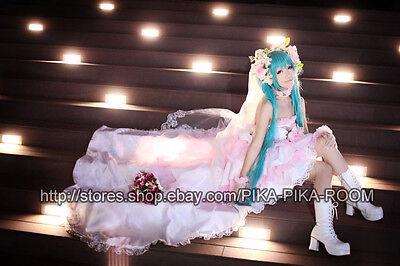 Hatsune Miku ~Hanayome Luxury Wedding Gown~ [VOCALOID] cosplay costume
