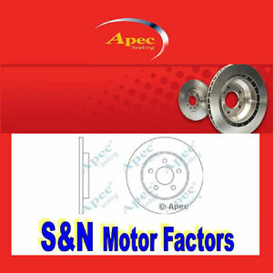 Brake-Discs-Rear-fits-Jaguar-X-Type-amp-Estate-APEC-2058