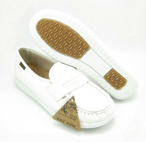 Ball-Band-W023-WHITE-COMFORT-ANTI-SLIP-Womens-NURSE-SHOES-Light-Weight-Loafers