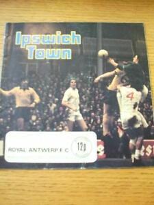 11081975 Ipswich Town v Royal Antwerp Friendly Folded Score On Front No - Birmingham, United Kingdom - 11081975 Ipswich Town v Royal Antwerp Friendly Folded Score On Front No - Birmingham, United Kingdom