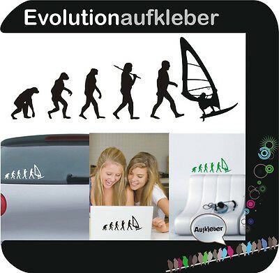 Surfer surf Evolution Wandaufkleber Sticker Folie Wandtattoo Aufkleber W391