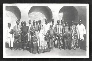 Haute Volta rppc King of Mossi Moro Naba Burkina Faso Africa 40/50s