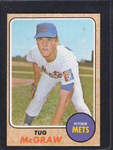 1968 Topps Tug Mcgraw 236 Baseball Card