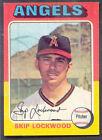 1975 Topps Skip Lockwood #417 Baseball Card