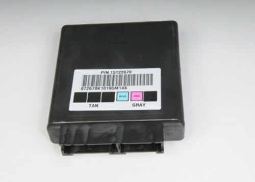 ACDelco 15122670 New Electronic Control Unit