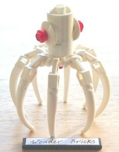 Lego Squid from 8061 Robot Arm Claw Tail Octopus Spider