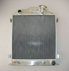 3ROW Aluminum Radiator 1932 32 FORD HI-BOY Grill Shells CHEVY ENGINE