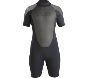 Aqua-Lung-3mm-Men-Quantum-Stretch-Short-dive-Wetsuit-scuba-diving-equipment-surf
