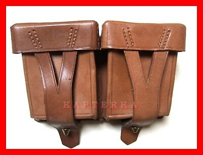 ☆ 1950 ussr rkka soviet russian red army mosin-nagant leather ammo pouch ☆