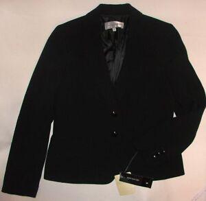 Nwt størrelse Black Ægte York Jones 10 Jacket New rqrnwzxP