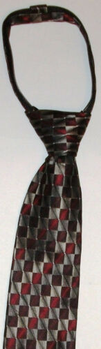 New Genuine VAN HEUSEN boy/'s CLIP// ZIP ON tie,4-8 years