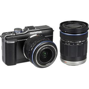 Olympus-Pen-E-PL1-Double-Zoom-Kit-II-W-14-42mm-40-150mm-lenses