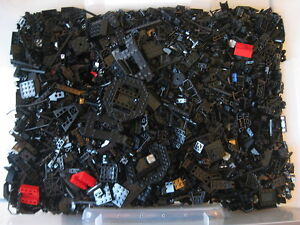 LEGO-Bulk-lot-BLACK-1-2-Lb-of-SPECIALTY-PIECES-150-200-pcs-STAR-WARS-Project