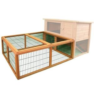 CM-01584-PREMIUM-PENTHOUSE-PLAYPEN-FEATURE-PACKED-RABBIT-RUN-BUNNY-YARD-RUN-CAGE