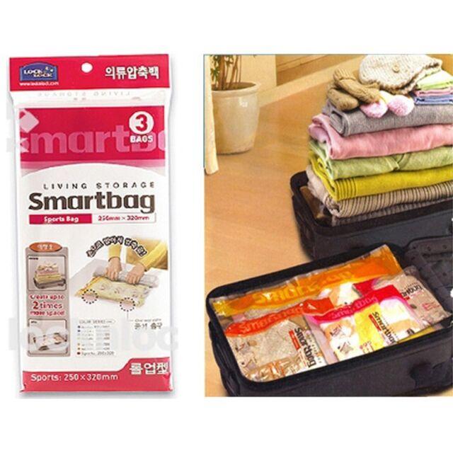 LocknLock Travel Sports Clothing Compression Storage Roll Up Space Saving Bag