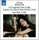 Alfredo Piatti - : 12 Caprices for Cello (2011)