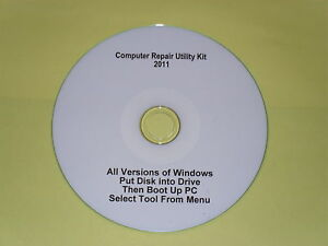 Computer Repair Utility Kit 2011 Diagnostics CD - <span itemprop='availableAtOrFrom'>Crook, United Kingdom</span> - Refund only if goods found to be faulty, Buyer pays return postage Most purchases from business sellers are protected by the Consumer Contract Regulations 2013 which give you the right to c - Crook, United Kingdom