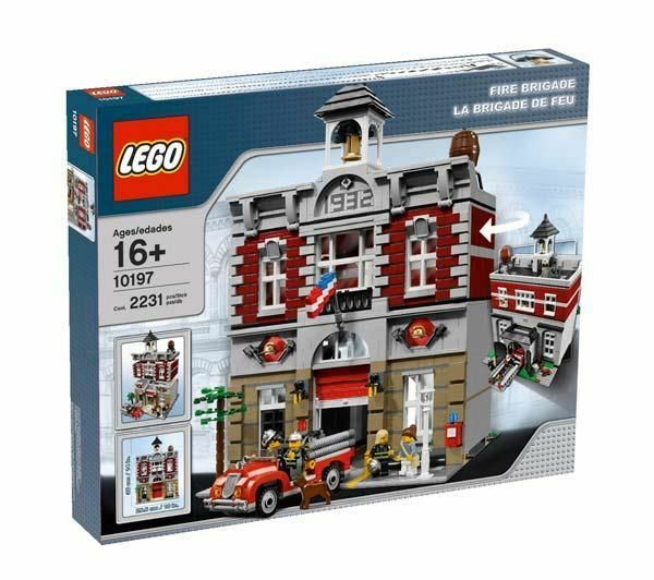 LEGO Creator Fire Brigade 10197 - New & Sealed