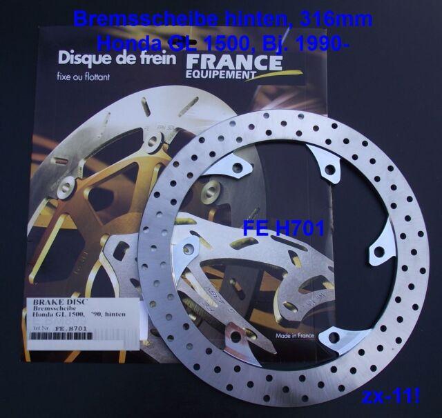 Bremsscheibe hinten Honda GL 1500, GL1500 Goldwing, 90-, FE.H701, Gold Wing SC22