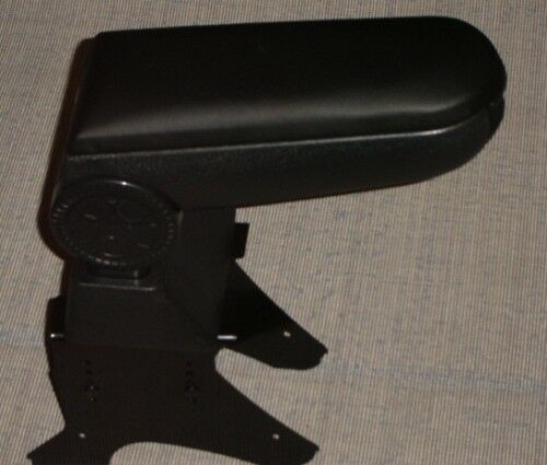 Black Leather Armrest Centre Console for Vauxhall Opel Vectra Astra Corsa Zafira