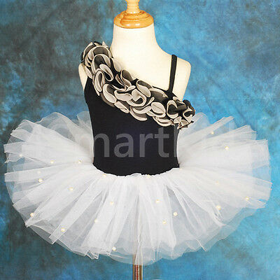 Ballet Tutu Girl Children Dance Costume Fancy Party Dress Up Size 4-7 BA022
