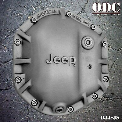 JEEP CLASSIC DIFFERENTIAL COVER DANA 44 in sandblast finish ODC-D44JS