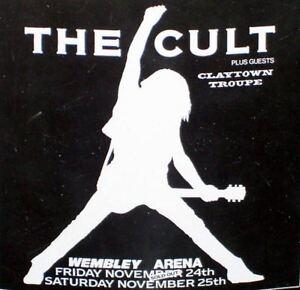 RARE-THE-CULT-WEMBLEY-ARENA-TOUR-STICKER-FREE-UK-P-P