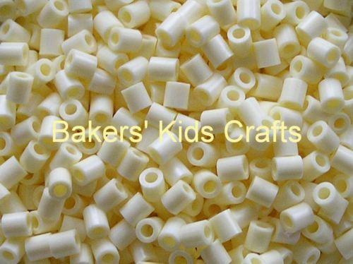 ~ 1000 CREAM Hama / Perler Beads  **GREAT KID FUN