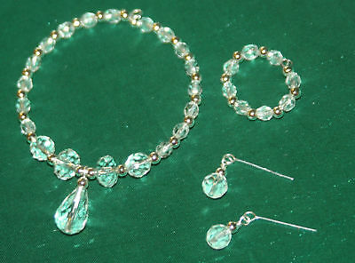 Sparkling Crystal Jewelry Set: Miss Revlon, Cissy doll