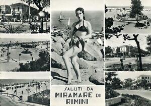 034-MIRAMARE-di-RIMINI-SALUTI-CON-SETTE-VEDUTE-034-Viaggiata-ANNI-60