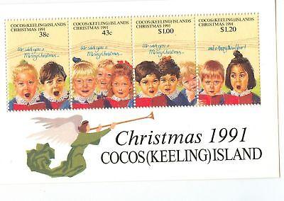 NATALE - CHRISTMAS COCOS (KEELING) ISLANDS 1991 block