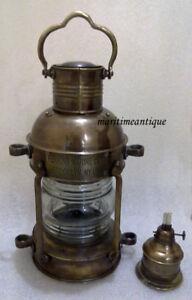 SHIP-LANTERN-NAUTICAL-LANTERN-Marine-brass-oil-lamp