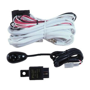pilot 12 volts pre wired harness kit w micro switch pl harn3 ebay