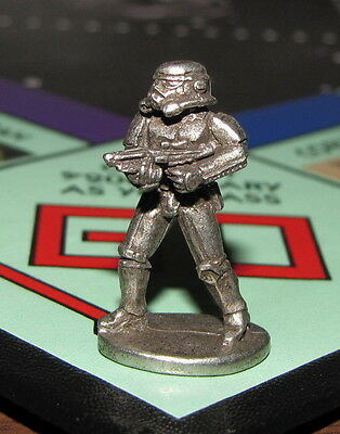 MONOPOLY STAR WARS Game Part STORM TROOPER Metal TOKEN Limited Collector Edition